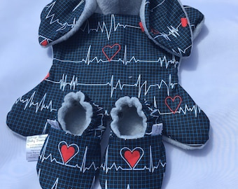Bunny and Booties-Ready to Ship, BUNDLE AND SAVE!