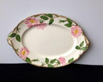 Franciscan Desert Rose Oval Platter - USA (1949-53)