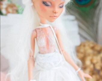 OOAK Custom Repaint Monster high EAH OOAK Cleo de Nill repaint custom doll