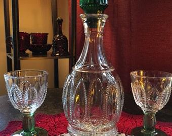 Vintage Avon Decanter and Cordials
