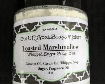 Toasted Marhmallow Sugar Soap Scrub