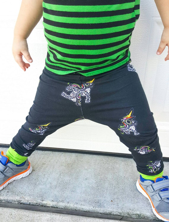 Unicorn Leggings Halloween Leggings Baby Leggings Unicorn