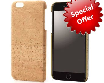 iPhone 7 Cover Case Cork Back Cover