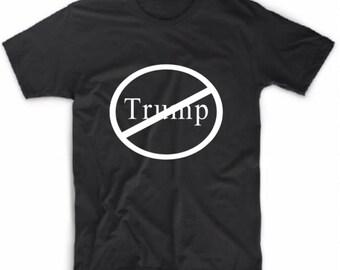 Anti TRUMP Tshirts / No TRUMP Tshirt / Political Tshirt / #notmypresident tshirt / democrat tshirt / 2016 election tshirt / I'm Not with Him