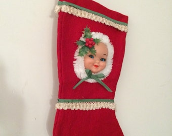 Repurposed Vintage Stocking