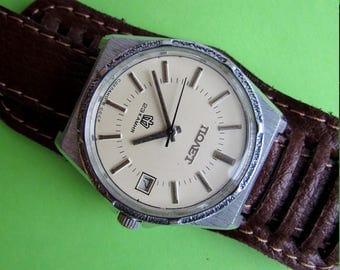 SOVIET POLJOT  USSR rare vintage men's mechanical wristwatch 23 jewels