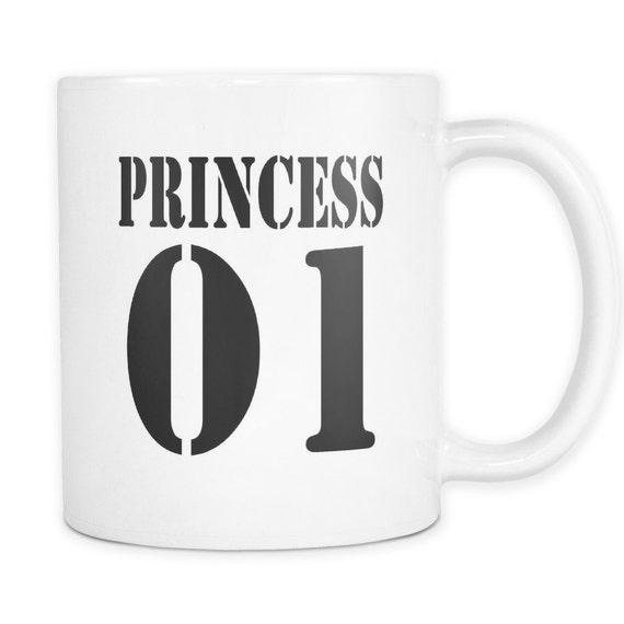 Princess 01 Coffee Mug  Best Gift Ideas For Your Little Princess