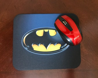 Batman Retro-Logo Mousepad