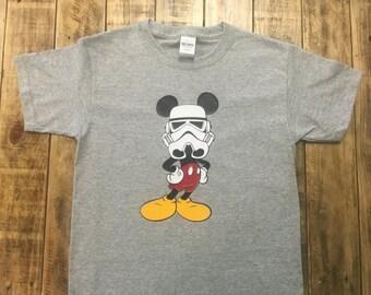 Disney Storm Trooper Mickey Mouse Star Wars, Disney Trip Announcement, Toddler Disney Shirt