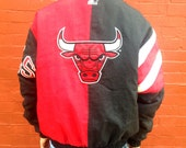 Chicago Bulls Vintage Starter Winter Jacket Medium