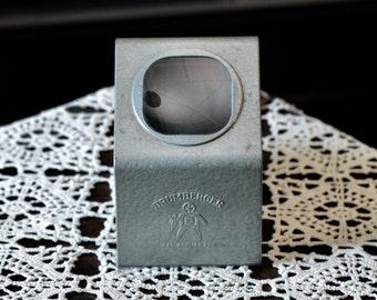 Vintage Brumberger metal 35 mm slide viewer