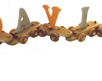 Name Train, Wooden Train Customized with the Child's Name