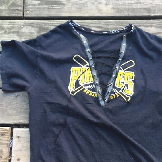 Pirates Lace-Up Tee