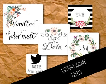 Custom labels, Custom stickers, personalised, wedding stickers, logo labels , business stickers, custom sticker, logo labels, packaging