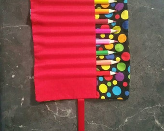 Pencil roll, pencil holder