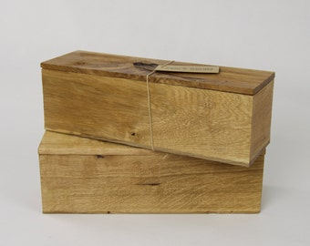 Wooden Wine /Whisky /Spirit /Rustic /Luxury Oak Box /Single Bottle /Hand crafted /Gift
