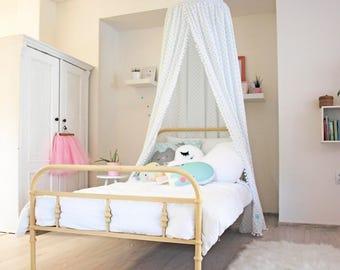 Bed Canopy Princess Room Decor Mint Girl