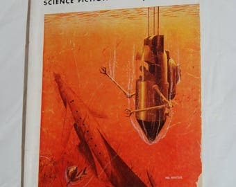 Galaxy Science Fiction Magazine - Pulp Fiction Paperback - 1954