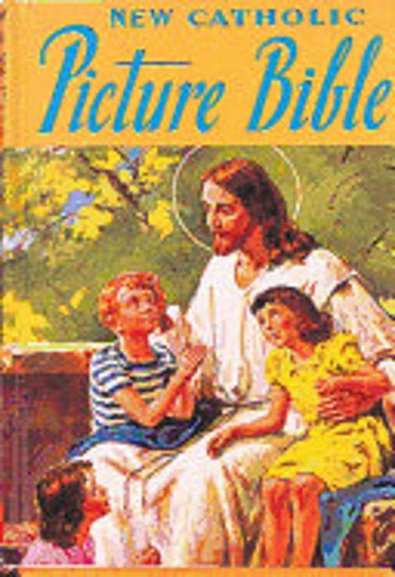 New Catholic Picture Bible Hardcover – July 1, 1988