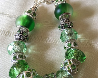 Spring Green European style bracelet