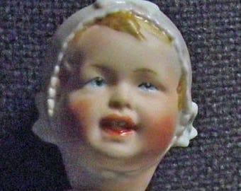 Antique Repro Doll, approx. 21 cm (48)