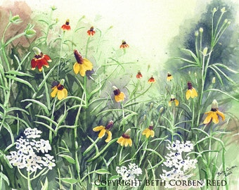 "Flower Art ""Tom's Meadow"""