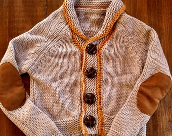 Baby Boy Button-up Sweater