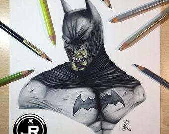 Zombie Batman (PRINT)
