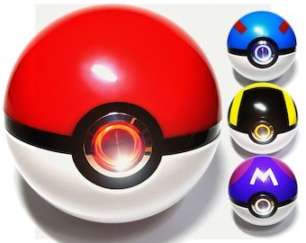 15% OFF!! Realistic Pokeball Light-up, Pokemon cosplay must have
