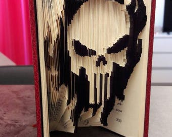 Punisher - Folded book colorized