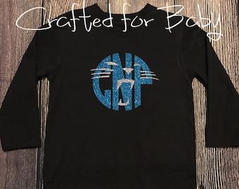 Carolina Panthers Monogram Youth Adult Shirt