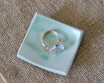 Ceramic Dish, Jewelry Dish, Trinket Dish, Jewelry Holder, Clay Dish, Clay Jewelry Holder, Anniversary Gift