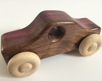 "Wooden Toy Car -  ""Skippy"""