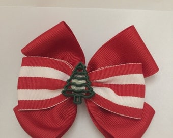 Christmas hairbow Ready to ship NOW!