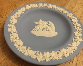 Blue and White Wedgwood Dish