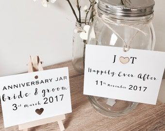 Wedding Annivesary Jar