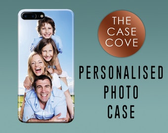 Personalised Photo iPhone Case - iPhone 7 SE 4 4s 5 5s 5c 6 6s 6 + Plus - Hard Plastic - Protective - Picture - Custom