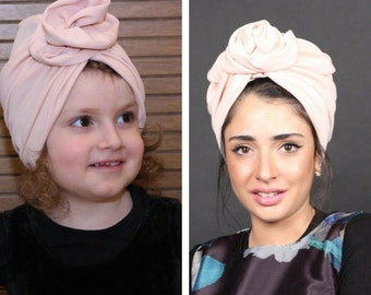 mommy and me turbans, matching turbans, mommy and me set baby headband, turbnas for girls
