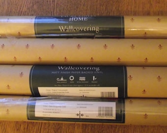 Laura Ashley 1996  4 rolls of vintage wall paper