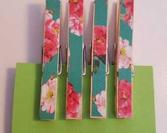 Clothespin Magnets