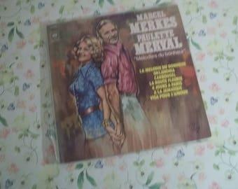 Marcel Merkes Paulette Merval Mélodies Du Bonheur LP