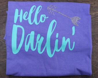 Hello Darlin comfort color tee