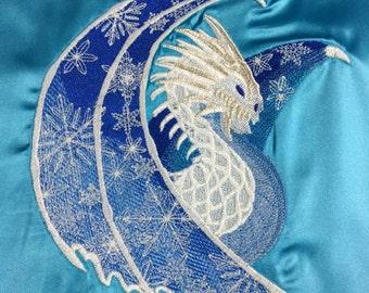 Winter Dragon Altar Cloth