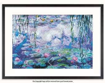 Claude Monet - Water Lilies - Art Poster