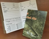 Upcycled pocket beer tasting journal - Bell's Two Hearted