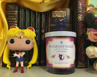 Sailor Moon | Scented Soy Wax Candle