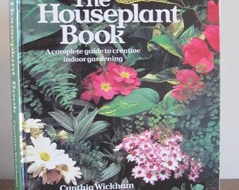 Book, Gardening Book, 1984 Gardening Book, Houseplant Book