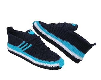 Sneakers Adidas, Slippers, Adidas Women slippers, Women sneakers , Crochet  Shoes, Knit Slippers, Men sneakers.