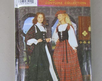 Andrea Schewe Simplicity Pattern 0663 for Misses Celtic Costume