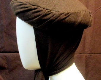 Vintage Pillbox Scarf Hat